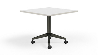 Pirouette Tables | Square Top (Fixed)