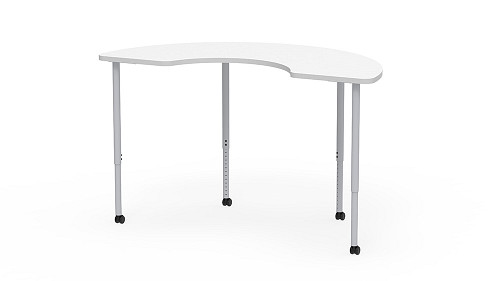 Kidney, Sit-Stand Height Adjustable