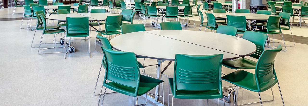 Uniframe Cafeteria Tables