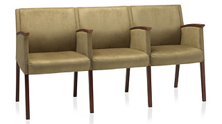 Soltice Multiple Seating | Three Seats