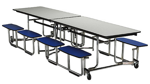 Rectangular with Split Benches
