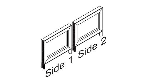 Monolithic Open Panels - Elevated Base