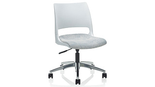 Doni Task Chair | Solid Shell (Upholstered Seat)