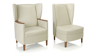 Affina Lounge Seating | Highback, Wingback Chair