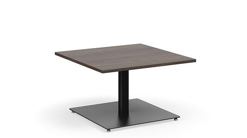 "Square Table, 18"" High"