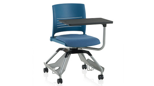 Strive Shell (Upholstered Seat) With Worksurface