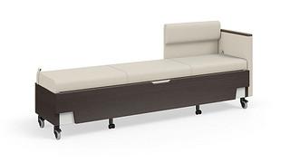 Hiatus Sleeper Bench   Right Chaise, One Arm