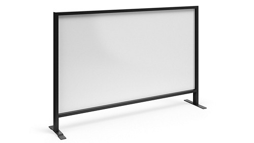 Monolithic Flex Screen with Magnetic Dry-Erasable Steel Core