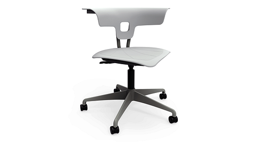 Task Chair with Poly Seat
