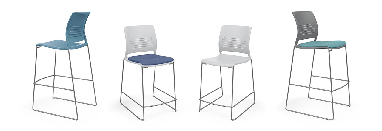 Strive High Density Cafe Stool