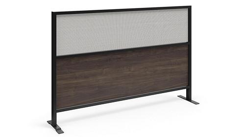 Segmented Flex Screen w/Thermally Fused Laminate Lower, Fabric Upper Core