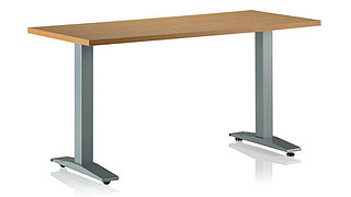 WorkUp Height-Adjustable Tables | WORKUP FIXED BASE TABLE