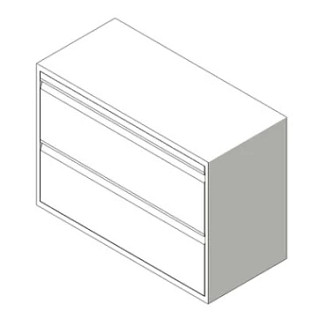 800 Series Lateral Files Revit