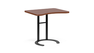 "C-Table Personal Worksurfaces | Rectangle w/ Comfort Curve (25-30""H Adjustable)"