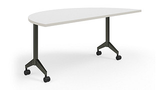 Pirouette Tables | Half Round Top (Fixed/Nesting)