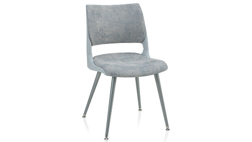 Tapered Steel Leg with Solid Shell (Upholstered Seat & Back)