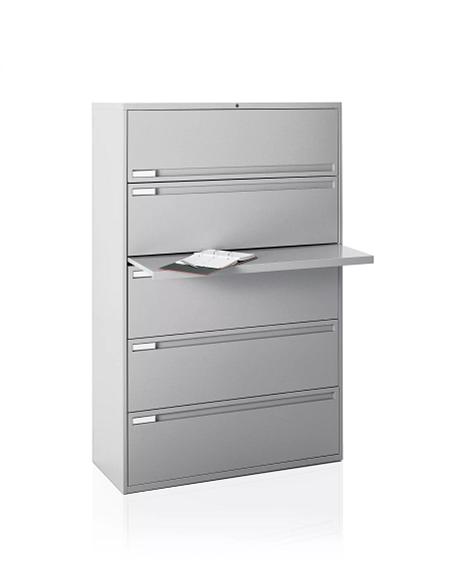700F lat 5 dr posting shelf