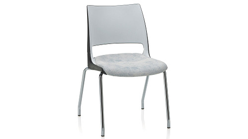 4-Leg with 2-Tone Shell (Upholstered Seat)