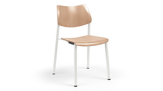 Katera Guest Chair | Wood Chair