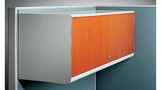 Universal Overhead Storage | Veneer Overhead Cabinet