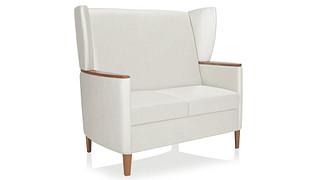 Affina Lounge Seating | Highback, Wingback Loveseat