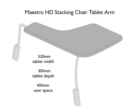 Maestro-HD-Stacking-Chair-Tablet-Arm