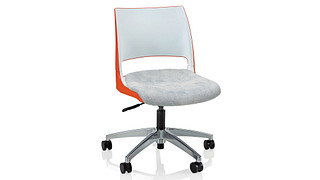 Doni Task Chair | 2-Tone Shell (Upholstered Seat)