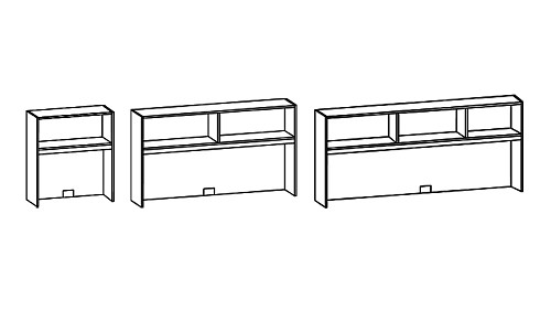 Surface-Mount Open Hutch