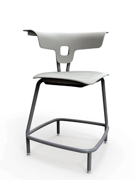 Ruckus stool 610mm glides