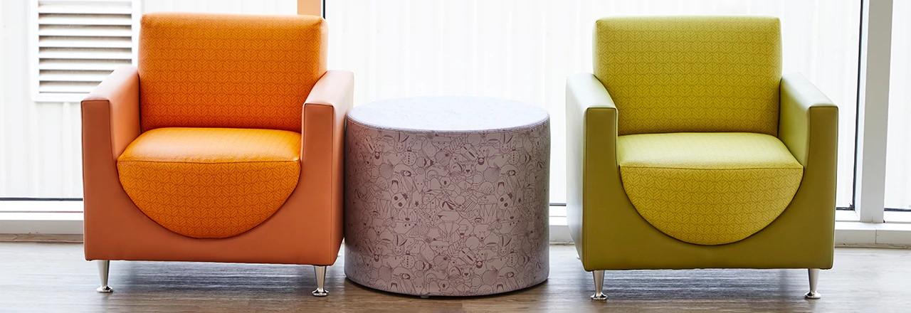Tea Cup Lounge Seating
