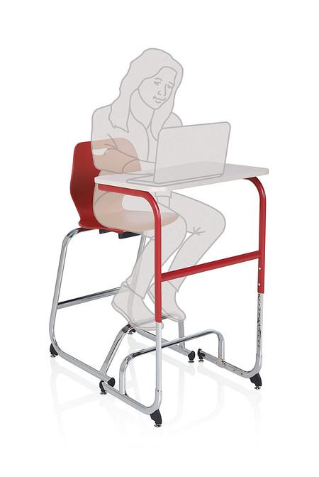 Wave desk sitstand positionD