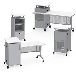 Instruct All Terrain Desk CAD Symbols
