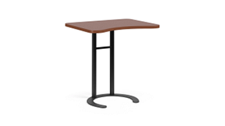 "C-Table Personal Worksurfaces | Rectangle w/ Comfort Curve (26"" or 29"" H Fixed)"
