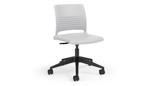 Poly Back and Seat