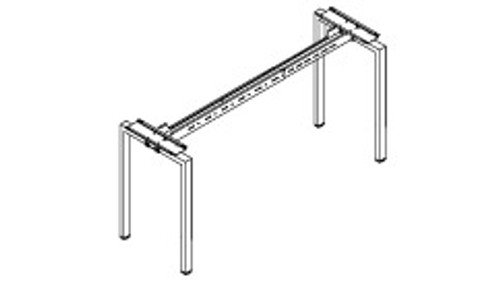 Cafe-Height Single-Sided Standalone or Starter Metal Frame