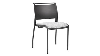 Opt4 Stack Chair | Upholstered 4-Leg Chair