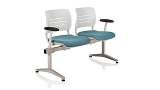 Grazie Tandem Seating | GRAZIE TANDEM 2 PLACE UNIT UPH
