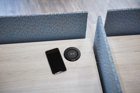 Wireless Charging Module  wPhone on Table