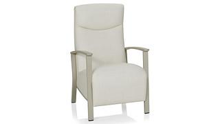 Soltice Metal Patient Chair   Open Arm