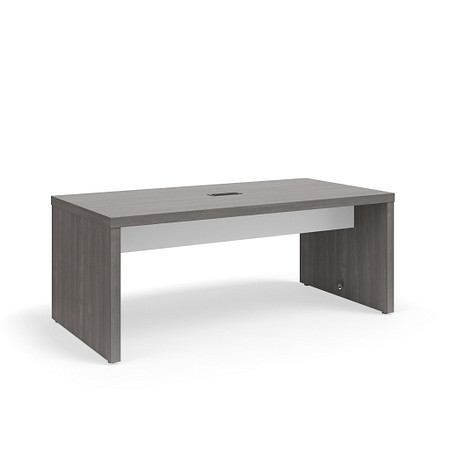 SerenadeGatheringTable StandardHeight 36x72 Contrast Stringer Power FrontAngle