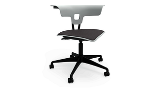 Ruckus Task Chair | Task Chair with Upholstered Seat