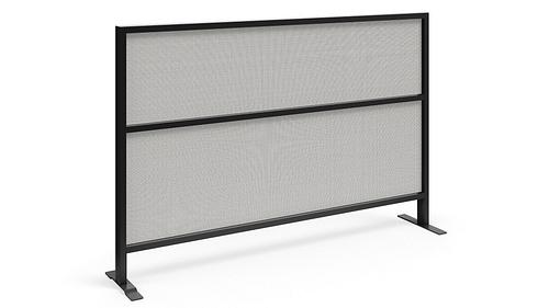 Segmented Flex Screen w/Fabric Lower and Upper Cores