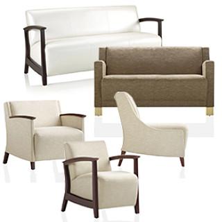 Soltice Wood Lounge Seating CAD Symbols