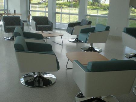 FIU SIPA Lyra lounge seating  tables