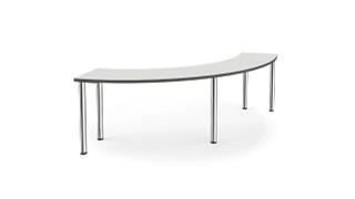 Pillar Tables | MyPlace Inside Curve Table