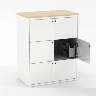 800 Series Lockers CAD Symbol