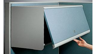 Universal Overhead Storage | Fabric Overhead Cabinet