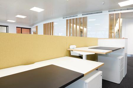 RFIB-Work21-Sit-Stand-Raised-E-Series-Screen-Yellow