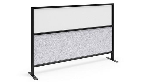 Segmented Flex Screen w/Polyester Felt Lower, Acrylic Upper Core