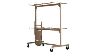 400 & 600 Series Folding Chairs | Double-Tier Storage Caddy